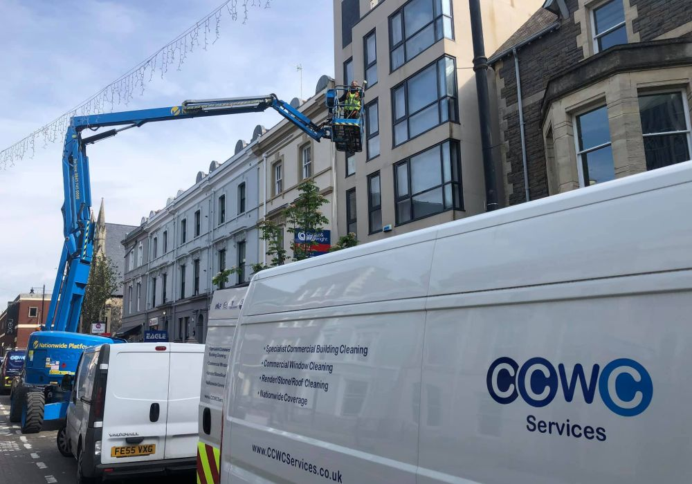building cleaning cardiff
